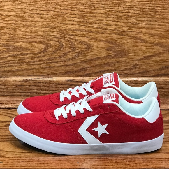 950d3e0fbf8e3a Converse Point Star Ox Gym Red White Shoes